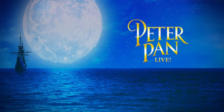 promotional poster for 'Peter Pan Live!'
